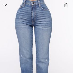 Brand new fashion nova jean